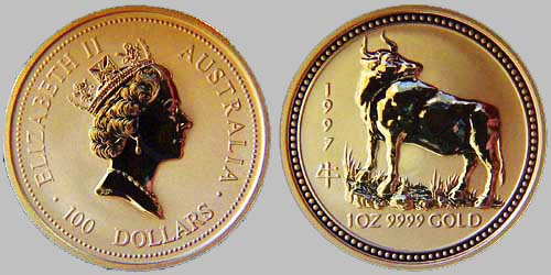 Australian Gold Lunar Coins For Sale