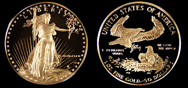 Proof Eagles American Gold