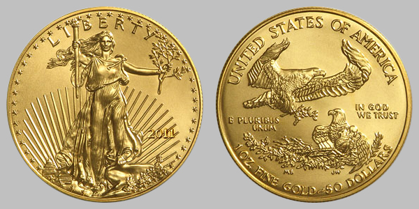 American 1 Oz Gold Eagle