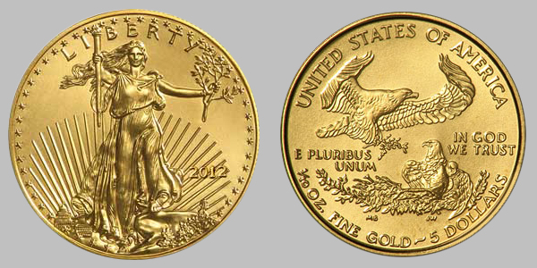 2012 Gold Eagle Coins For Sale