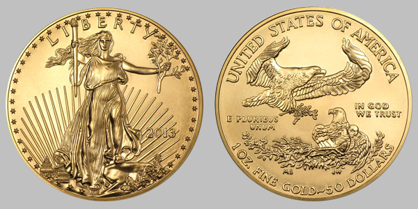 2013 American Gold Eagle