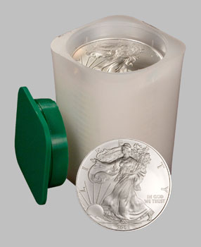 American 1 Oz Silver Eagle U S Silver Coin Rolls Of 20 Coins
