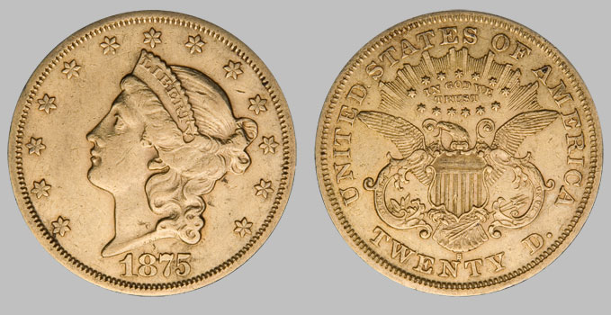 U S Gold 20 Liberty Coins Xf Extra Fine For Sale