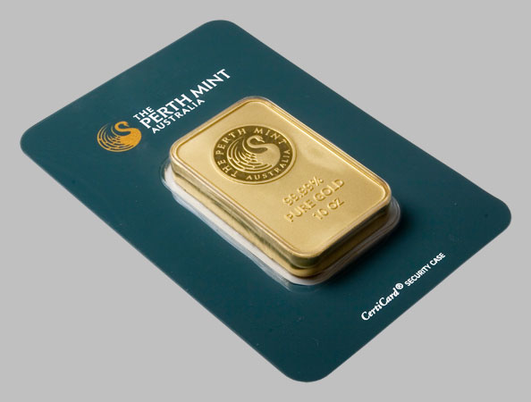Perth Mint Gold Bars For Sale
