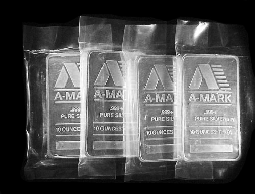 Silver Bars 10 Oz A Mark Brand New Silver Bullion