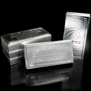 Apmex Silver Bars 100 Oz 999 Silver Stackable Bars