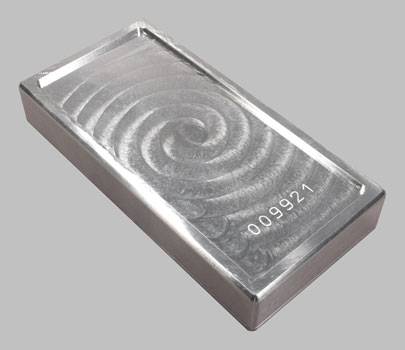 Academy 100 Oz 999 Silver Bar