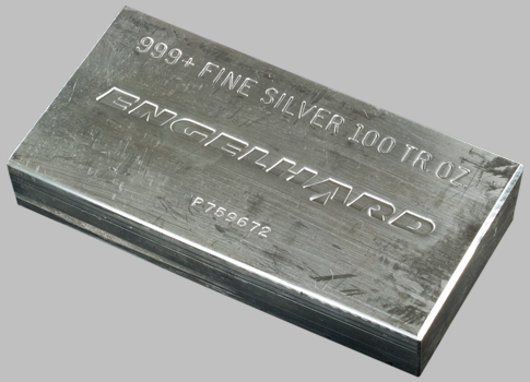 Engelhard Silver Bar 100 Oz Engelhard Bullion Bars