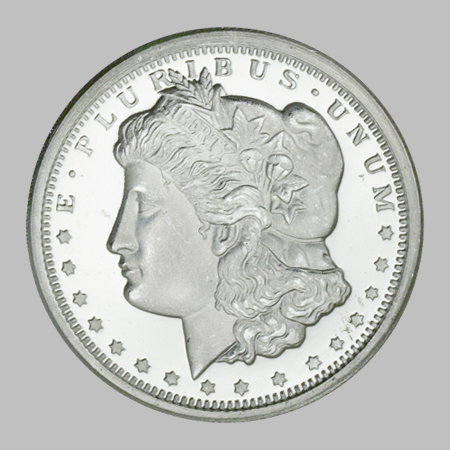 Golden State Mint Silver 1 2 Rounds Half Oz Morgan
