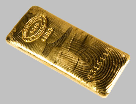 Kilo Gold Bars Johnson Matthey Brand New Bar For Sale