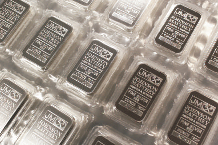 Johnson Matthey Silver Bars 1 Oz New Johnson Matthey 999