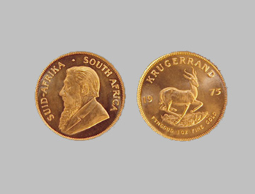 Krugerrand South African Gold